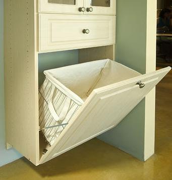 Tilt Out Laundry Hamper