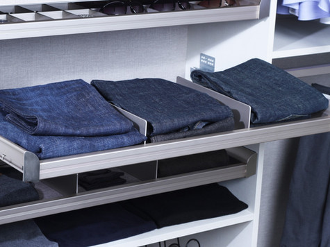 Divided Shelf