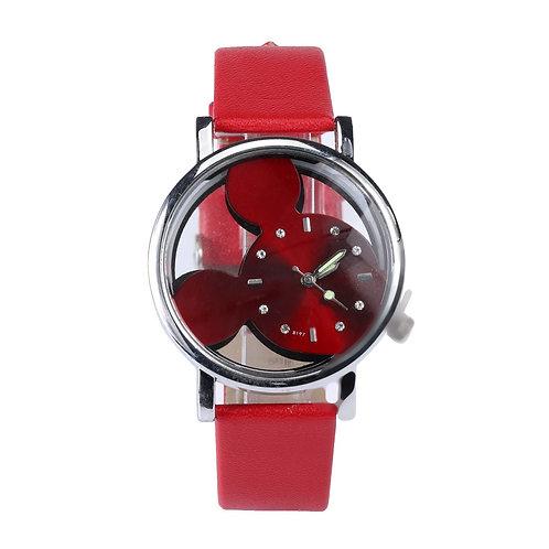 Women's Watches Thin (Mouse) Leather Band – Quartz Analog