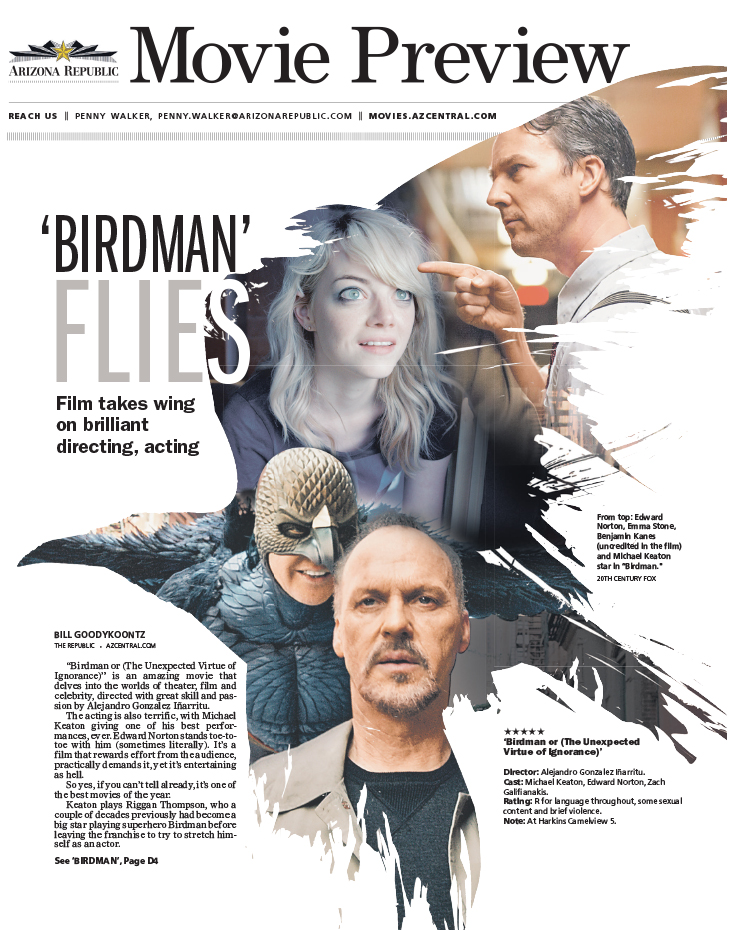 Birdman Flies