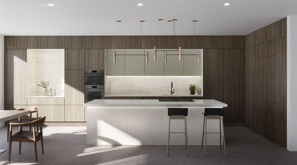 Austurhofn Apartments Kitchen