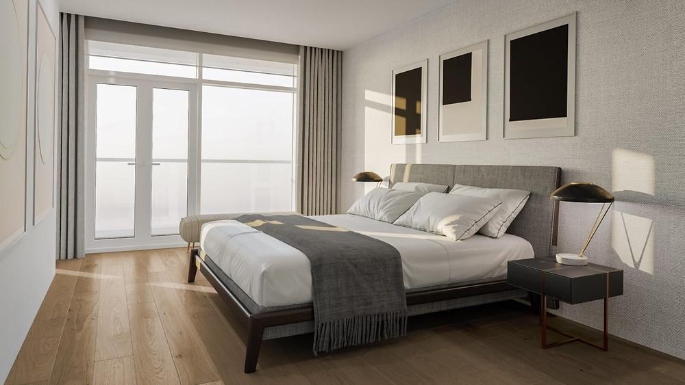 Austurhofn Apartments Bedroom View