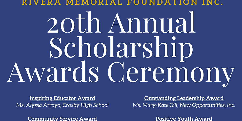 Rivera Memorial Foundation Scholarship Awards Ceremony