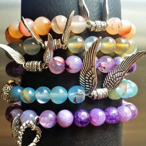Agate Healing Stone Bracelets
