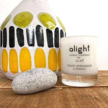 Zest - Indian Lemongrass & Mango Soy Candle