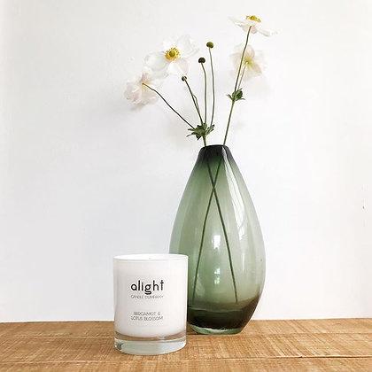 Bergamot & Lotus Blossom Soy Candle