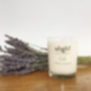 French Lavender Scented Candle.JPG
