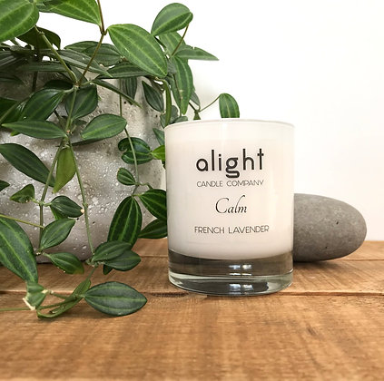Calm - French Lavender Soy Candle