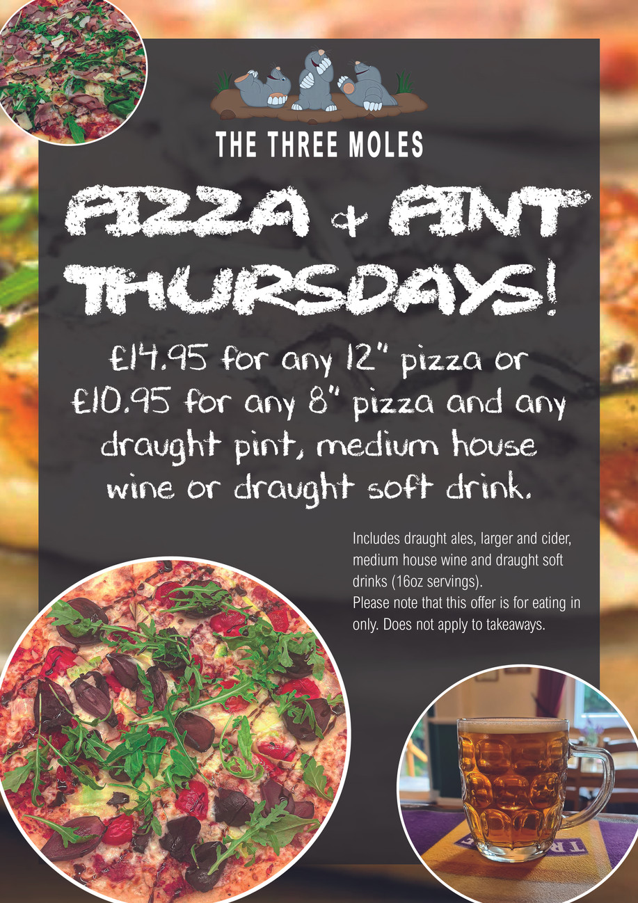 Pizza & Pint Thursday