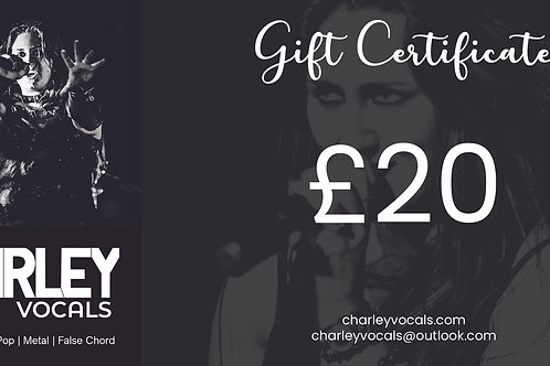 £20 Gift Voucher