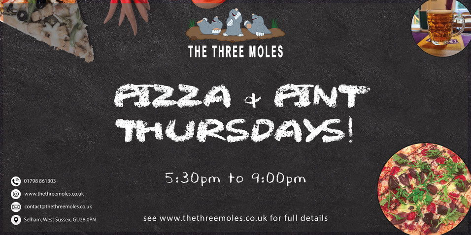 Pizza & Pint Banner