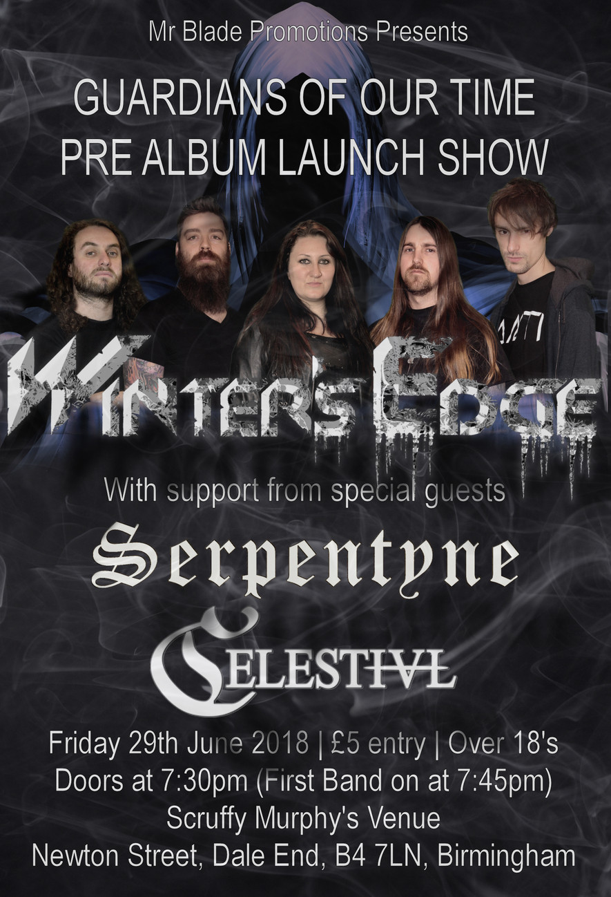 Album Launch Poster