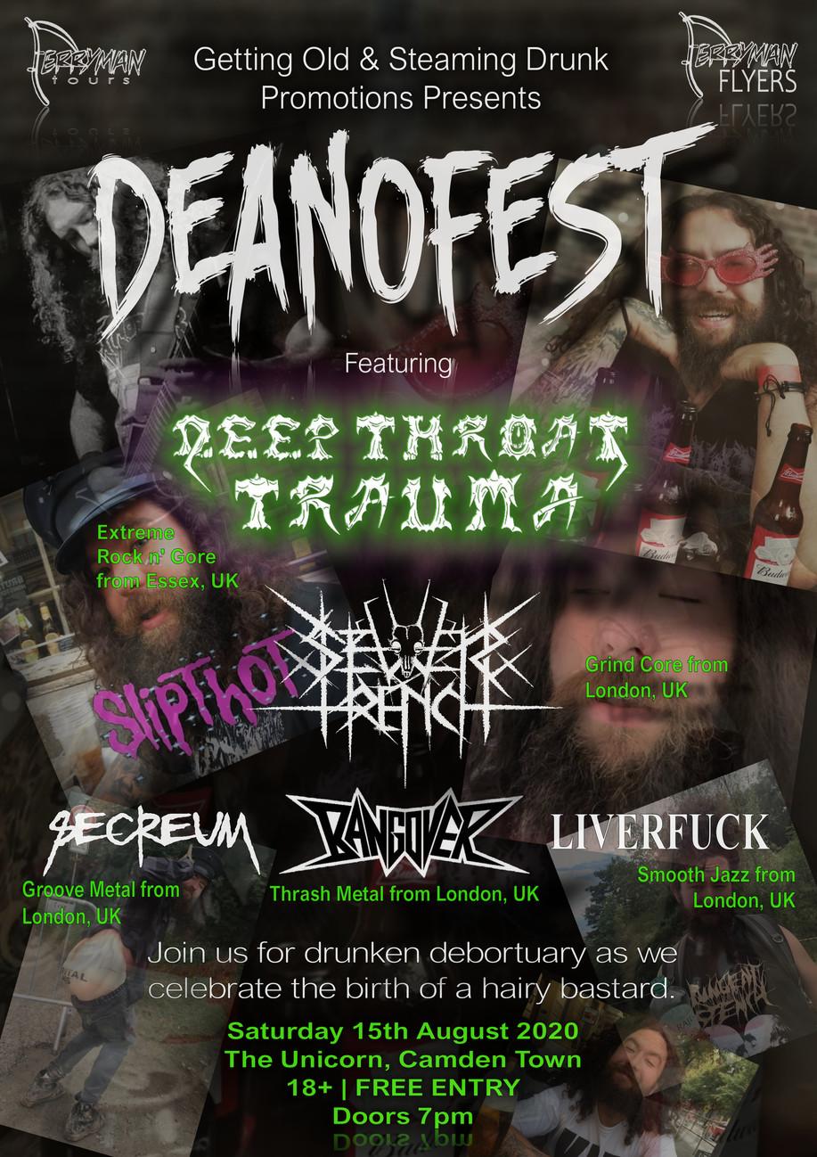 DeanoFest Poster
