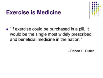 Exercise is best...the Physio way!