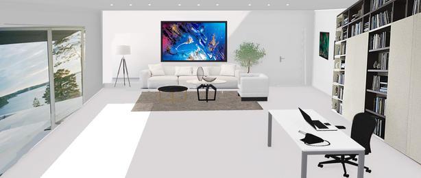 Room concept Blender