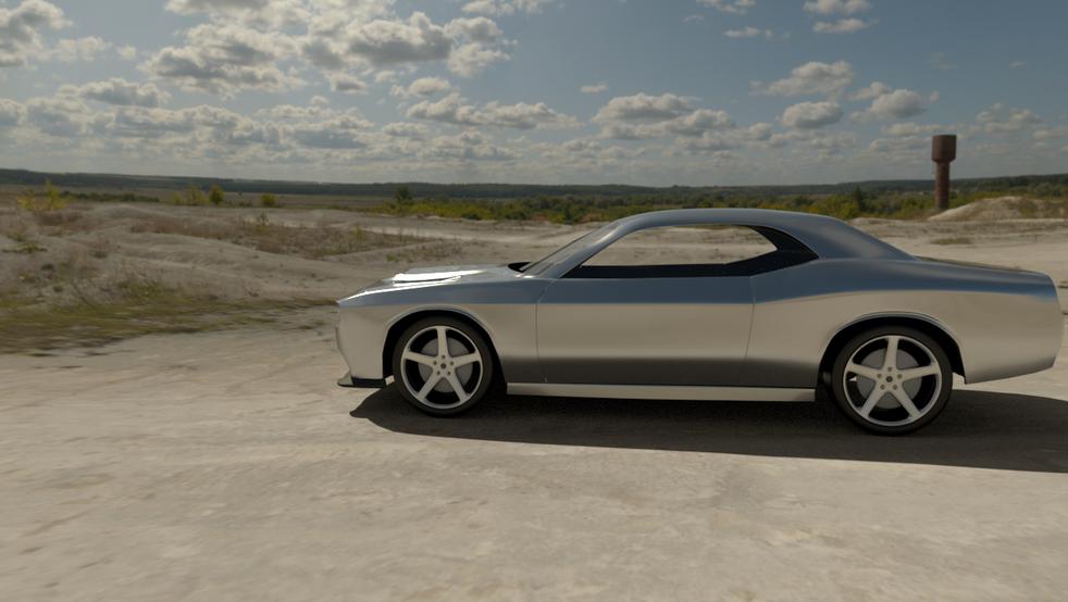 Concept car chrome