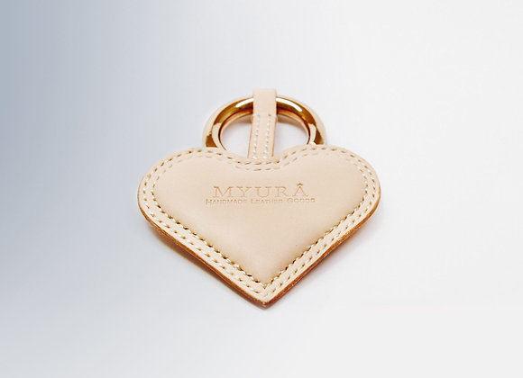 Heart Shape Key Chain (Natural)