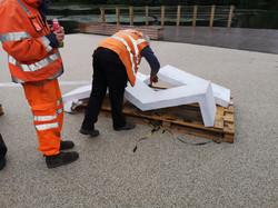 Herriot Watt Bench Instalation (3)