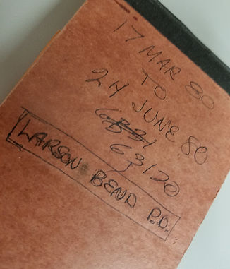 Larson Notebook (March-June 1980)
