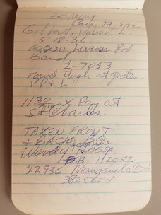 Larson Notebook (April 30, 1979)