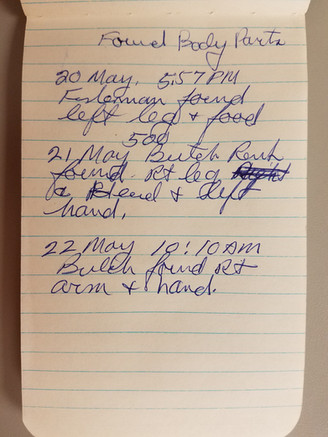 Larson Notebook (May 1979)