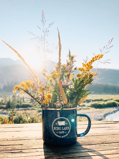 Enamel Camp Fire Mug
