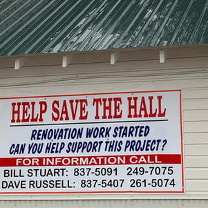 Donated $1,500 to help save the Swan River Hall