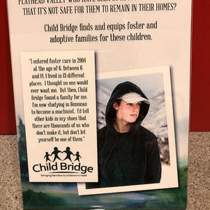 We have donated over $9,000 to Child Bridge.