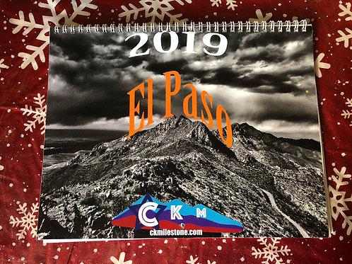 El Paso 2019 Wall Calendar