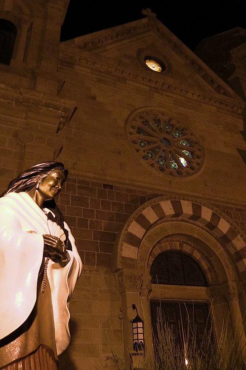 Santa Fe Cathedral Photo Print