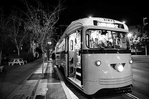 Trolley Time Photo Print