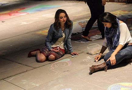 Chalk the block #chalktheblock #art #elp