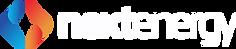 nextenergy color symbol white lettering.