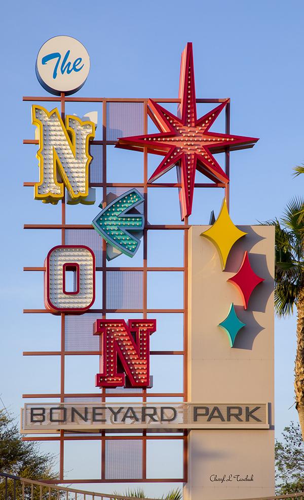 Las Vegas Boneyard Park Sign
