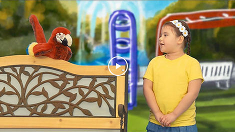 Take the Stage Sofia and Mr. Parrot teach prepositions in Spanish mariachi music