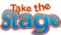 Take the Stage logo kids arts tv show