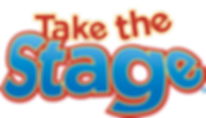 Take the Stage logo kids arts tv show