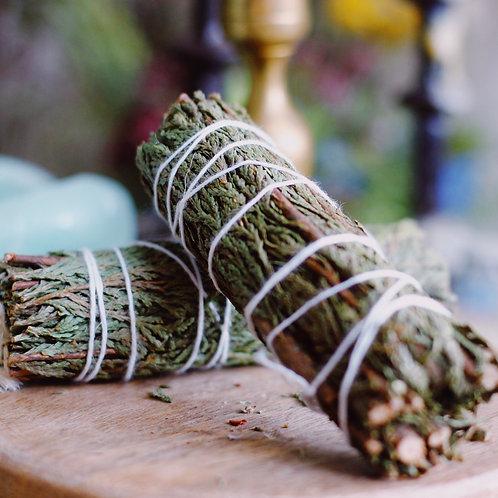 Cedar Smoke wand