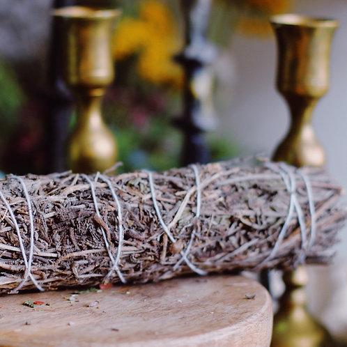 Lavender Sage-Smoke wand 22cm