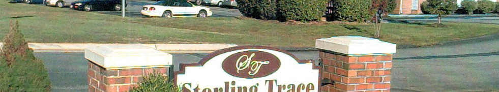 Sterling Trace Apartments Monument Sign