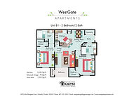 WestGate Unit B1 - 2 Bed 2 Bath FP FINAL