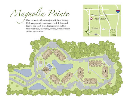 Magnolia Pointe Community Map