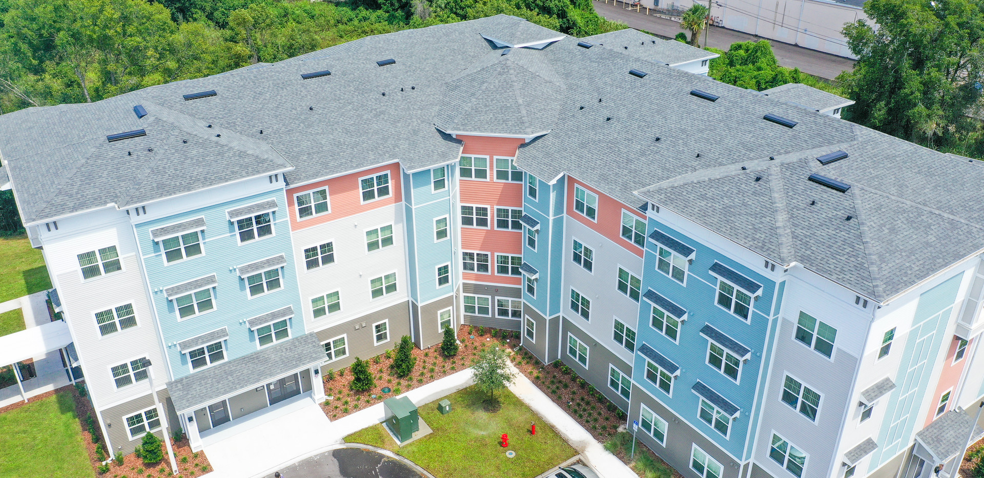 Banyan Cove Apartments Aerial Building Photo