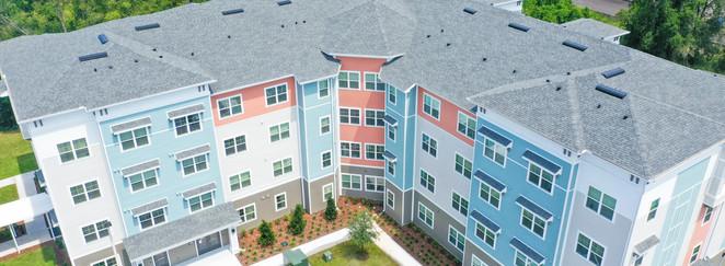 Banyan Cove Apartments Aerial Building Photo