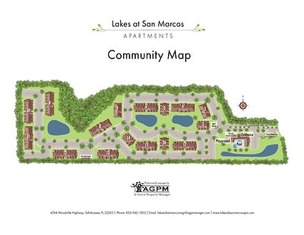 Lakes at San Marcos Community Map