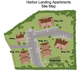 Harbor Landing Site Map