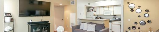 Glen Oaks Apartments Living Room View