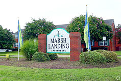 Marsh Landing Apartments Monument Sign