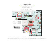 WestGate Unit C2 - 3 Bed 2 Bath FP FINAL