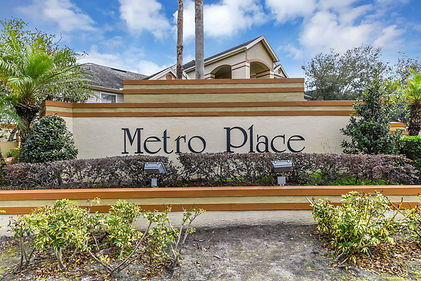 Metro Place Monument Sign